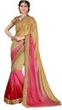 Ashika Printed Fashion Chiffon Saree (Pi...