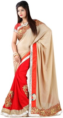 Regalia Ethnic Embriodered Fashion Chiffon Sari
