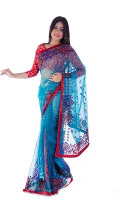 Aryya Self Design Bollywood Net Sari