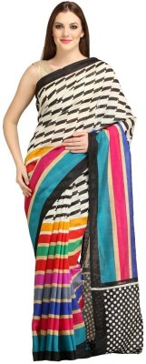 Chhaya Creation Solid Bollywood Art Silk Sari