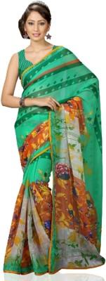 Fadattire Printed Fashion Chiffon Sari