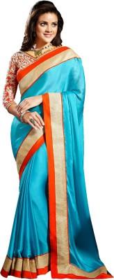 Manjaree Embriodered Fashion Satin Sari
