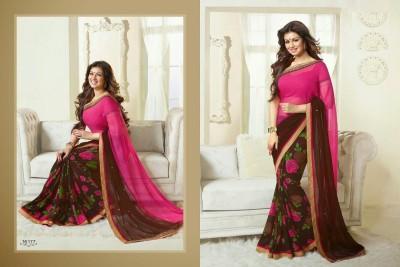 Ak Fashion Self Design Bollywood Georgette Sari