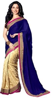 Ustaad Embriodered Fashion Jacquard Sari