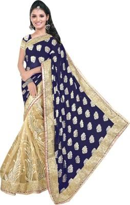 Diva Divine Embriodered Fashion Viscose Sari