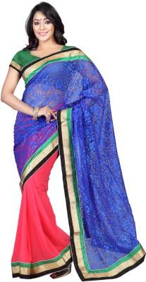 V-Karan Embriodered Fashion Brasso Sari