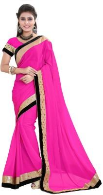 Sareeka Sarees Plain Bollywood Georgette Sari