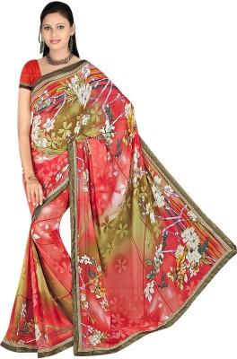 Janya Self Design Bapta Georgette Sari