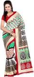 Varibha Solid Fashion Silk Saree (Multic...