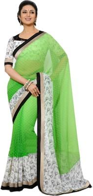 Rozdeal Printed Fashion Georgette Sari