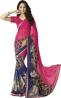 Myntas DXL Argyle Bollywood Georgette Sari