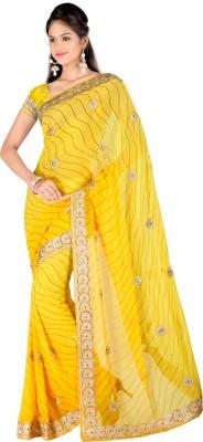 Chandra Silk Mills Self Design Bollywood Art Silk Sari