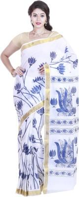 SriSyndicate Printed Fashion Cotton Sari