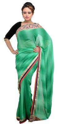 RANISHI Embellished Fashion Georgette Sari