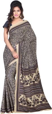 Goodfeel Geometric Print Fashion Art Silk Sari