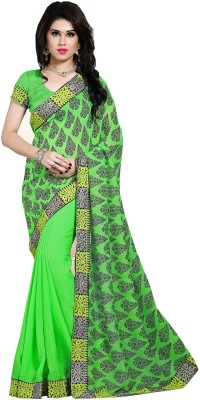 Sarika Fashion Floral Print Fashion Jacquard Sari