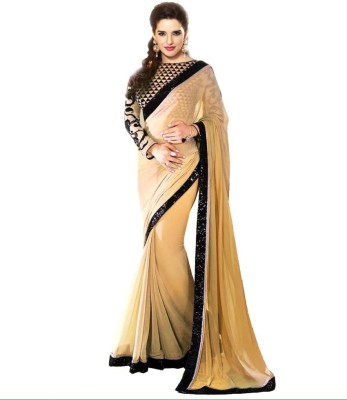 Kanupriya Embriodered Bollywood Chiffon Sari