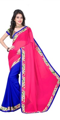 Jenny Embriodered Bollywood Georgette Sari