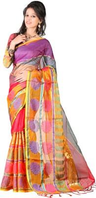 Kajal Syntex Embellished Banarasi Tissue Sari