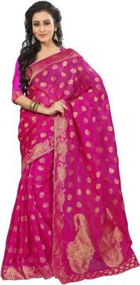 Odhni Paisley Bollywood Banarasi Silk Sari