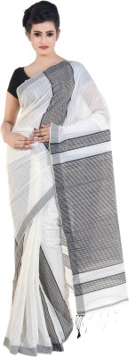 Bengal Handloom Striped Tant Cotton Sari