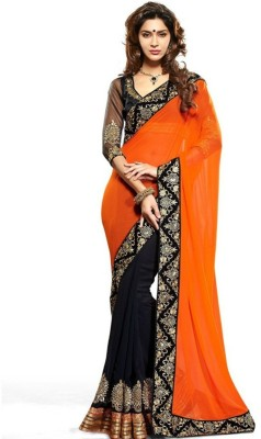 Kyara Embriodered Fashion Chiffon Sari