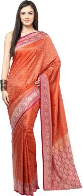 Fabroop Woven Fashion Handloom Art Silk Sari