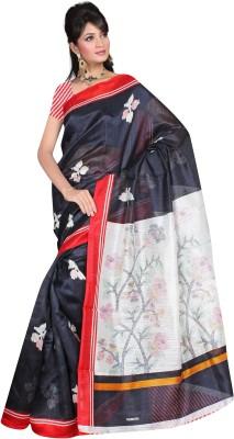 Nihanth Printed Bhagalpuri Silk Sari