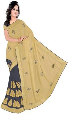 Pawan Tex Embriodered Fashion Chiffon Sari