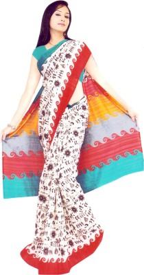 Keya Sarees Graphic Print Bhagalpuri Silk Sari