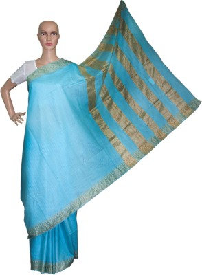 Prateeti Solid Daily Wear Handloom Silk Sari