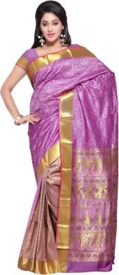 Varkala Silk Sarees Woven Paithani Handloom Art Silk Sari