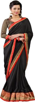 Vonage Solid Bollywood Satin, Georgette, Jacquard Sari