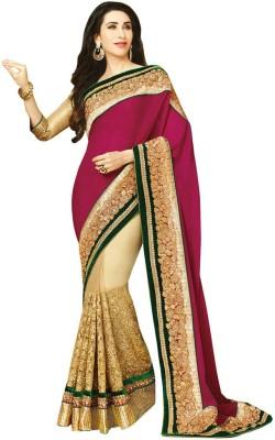 Ruaab Fashion Embriodered Fashion Net Sari