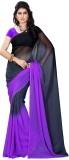 Online Adda Printed Fashion Georgette Sa...