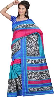 Deal Fashion Printed Fashion Art Silk Sari