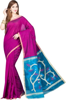 Shree Store Woven Fashion Handloom Cotton Sari