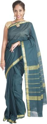 Connectshop Woven Fashion Handloom Cotton Sari