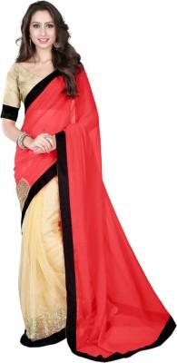 Rashmi Creation Embriodered Fashion Net Sari