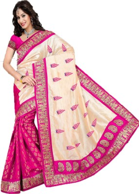 NKK Enterprise Printed Bollywood Handloom Georgette Sari