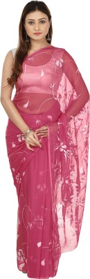 Le Luxe Printed Fashion Chiffon Sari