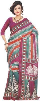 Rishiraj Printed Bhagalpuri Tussar Silk Sari