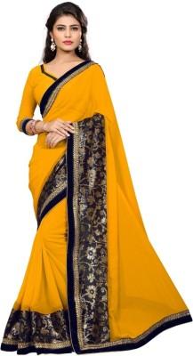 Namohouse Embriodered Fashion Georgette Sari