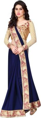 Kryptos Online Self Design Fashion Chiffon Sari