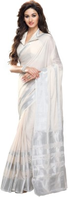 NSMedia Embriodered Fashion Cotton Sari
