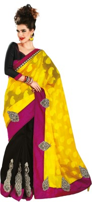 Chirag Sarees Self Design Fashion Cotton Sari