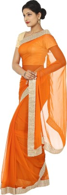Kajal New Collection Plain Fashion Chiffon Sari