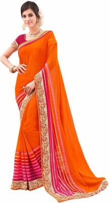 Ethnicway Embriodered Daily Wear Georgette Sari