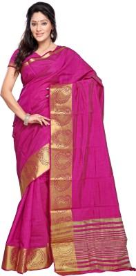 Veebee Embellished Fashion Tussar Silk Sari