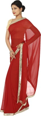 Kajal New Collection Plain Fashion Chiffon Sari